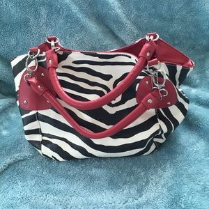 Handbags - ZEBRA PRINT HAND BAG